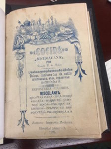 old mexican cookbook